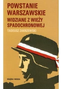 Powstanie Warszawskie widziane z wieży spadochronowej
