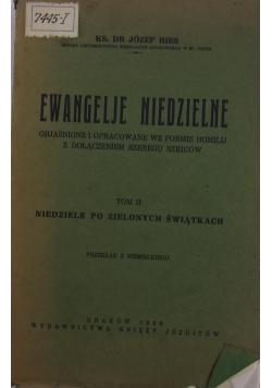 Ewangelie niedzielne Tom II,1936r.