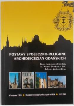 Postawy społeczno - religijne archidiecezjan gdańskich.