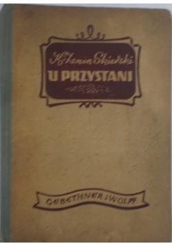 U przystani, 1948 r.