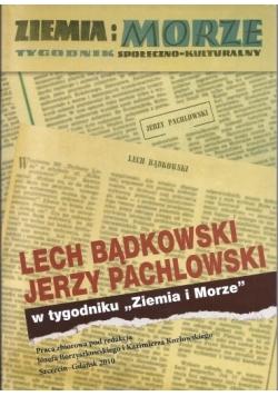 Lech Bądkowski J. Pachlowski w tyg. Ziemia i Morze