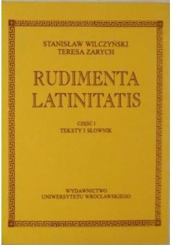 Rudimenta Latinitatis Część