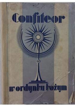 Confiteor w ordynku bożym, 1930 r.