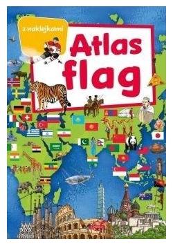 Atlas flag z naklejkami
