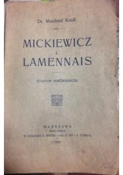 Mickiewicz i Lamennais, 1909 r.