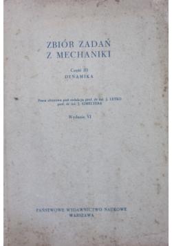 Zbiór zadań z mechaniki - cz.III