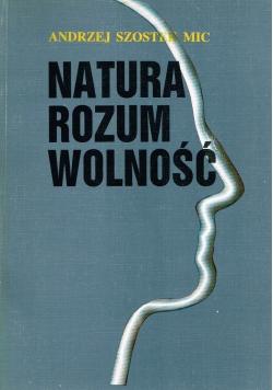 Natura , rozum, wolność