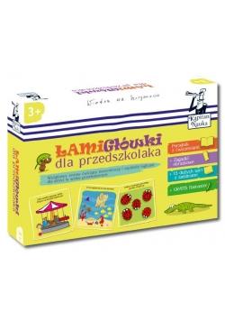 Kapitan Nauka. Łamigłówki dla przedszkolaka 3+