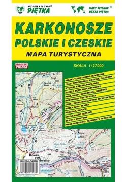 Karkonosze Polskie i Czeskie 1:27 000 mapa turyst.