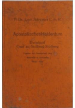 Apostolisches Heldentum, 1933 r.