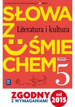 J.Polski SP  5 Słowa z uśmiechem Podr. lit. i kult