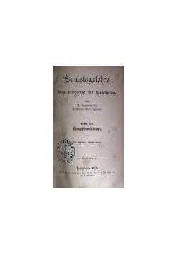 Samstagslehre, 1892r