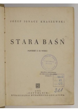 Stara baśń, 1945r.