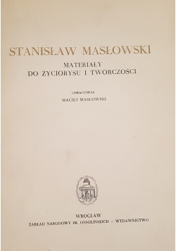 Stanisław Masłowski