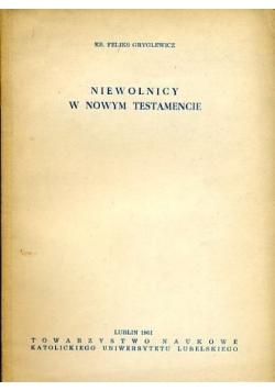 Niewolnicy w Nowym Testamencie