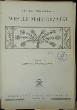 Wesele Małgorzatki
