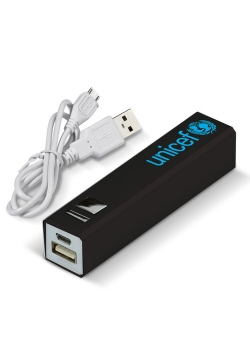 Przenośna Ładowarka USB Czarna