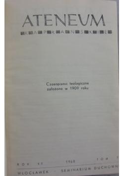 Atenum Kapłańskie rok 60 zesz 1/354 - rok 60 zesz 6/359