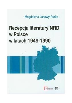 Recepcja literatury NRD w Polsce w latach 1949-1990