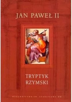 Tryptyk rzymski Jan Paweł II op. twarda