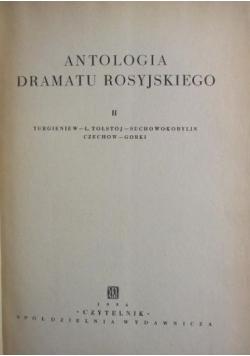 Antologia dramatu rosyjskiego, t.II