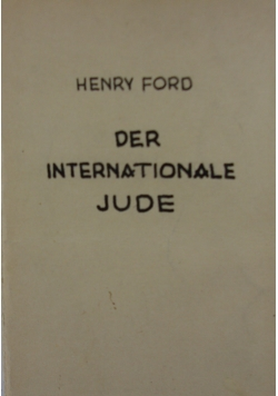 Der Internationale Jude, 1942r.