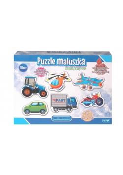 Puzzle maluszka - Pojazdy