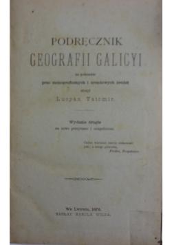 Podręcznik geografii Galicyi, 1876 r.