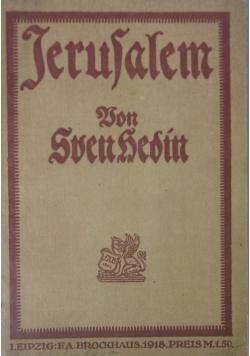 Jerusalem, 1818 r.