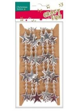 Ozdoba dekoracyjna łańcuch gwiazdki
