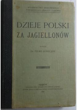 Dzieje Polski za Jagiellonów, 1903 r.