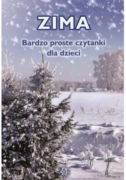 Zima Bardzo proste czytanki dla dzieci