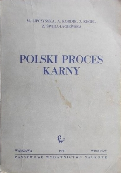 Polski proces karny