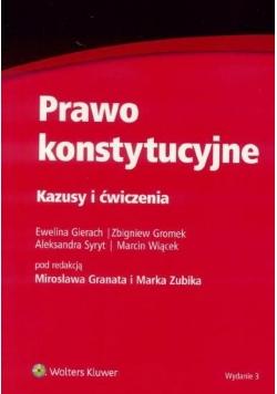 Prawo konstytucyjne Kazusy i ćwiczenia