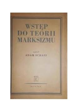 Wstęp do teorii marksizmu