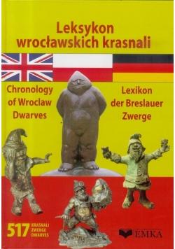 Leksykon wrocławskich krasnali w.pol-ang-niem.