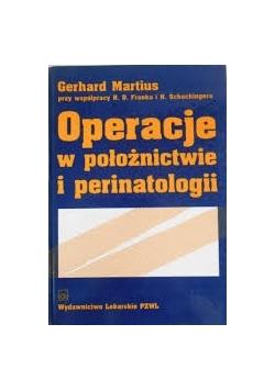 Operacje w położnictwie i perinatologii