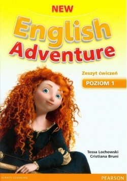 English Adventure New 1 WB + DVD PEARSON