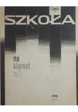 Szkoła na klarnet cz.1