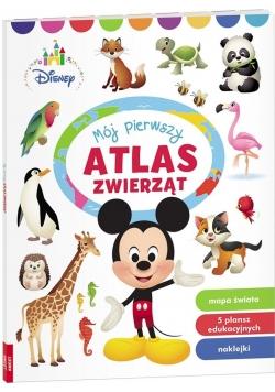 Disney maluch Mój pierwszy atlas zwierzą