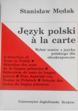 Język polski a la carte
