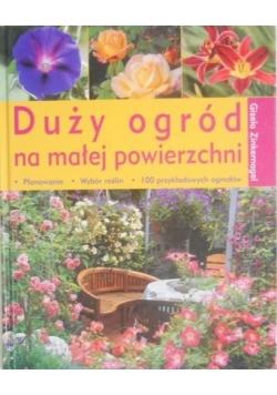 Duży ogród na małej powierzchni
