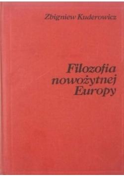 Filozofia nowożytnej Europy