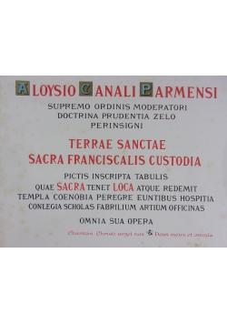 Album Missionis Terrae Sanctae, Tom 1 i 2,  1893 r.
