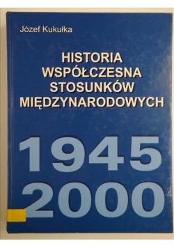 Historia współczesna stosunków miedzynarodowych