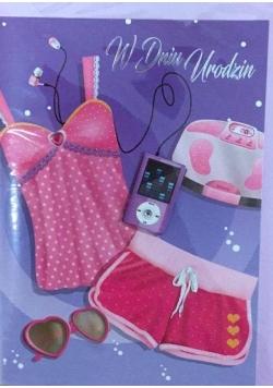 Karnet urodziny B6 Premium 22 + koperta