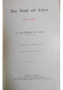 Aus Kunst und Leben, 1911 r.
