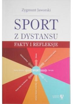 Sport z dystansu. Fakty refleksje