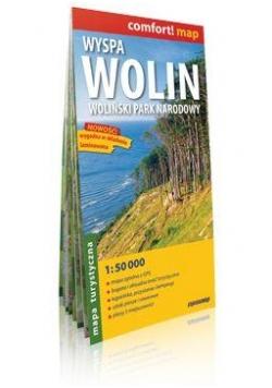 Comfort!map Wyspa Wolin Woliński PN mapa