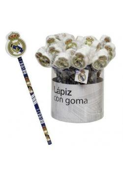 Ołówek z gumką Real Madrid (36szt)